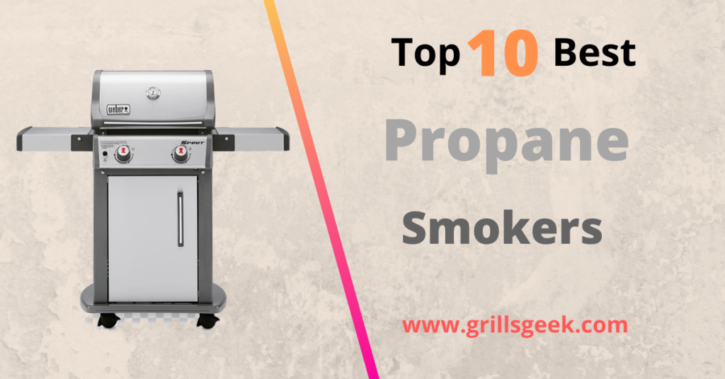 Top ten best propane smokers