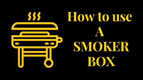 how to use a smoker box