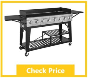 royal gourmet best flat top gas grill