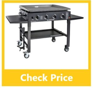 blackstone 4 burner flat top gas grill